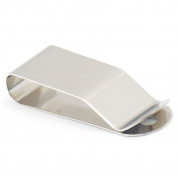Fujiyuan 5 Pcs 44x15mm Spring Holster Belt Clip Clasp Hook Buckles Keyring Leather Craft Nickel