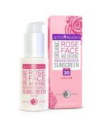Alteya Organics Rose Face Organic Sunscreen SPF 30