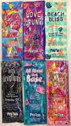 6 Variety Packets of Pro Tan Tanning Lotion Samples