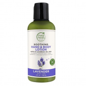 Petal Fresh Pure Soothing Hand & Body Lotion, Lavender, 3 Fluid Ounce