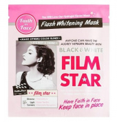 Faith in Face Black & White Film Star Flash Whitening Mask