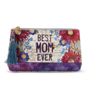 Demdaco Cosmetic Pouch - Best Mom Ever