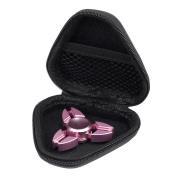 Kwok Hand Spinner Eau De Cologne Fidget Spinner Focus Gyro Toy Dustproof Bag Box Case