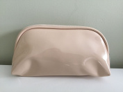 Nordstrom Nude Pearizedl Patent Cosmetic Bag