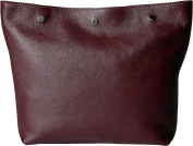 MARNI Men's Leather Pouch Burgundy