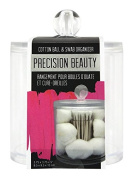 Precision Beauty Cotton Ball & Swab Organiser