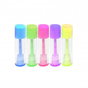 Zcargel Lip Balm Containers Empty Lip Gloss Tubes with Twist Bottom and Top Cap -DIY Your Own Lip Balm Chapsticks- 90ml