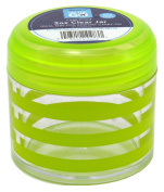 Sprayco Travel Bottle 2 Ounce Striped Jar (12 Pieces) Assorted Colours