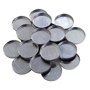 Round Empty Magnetised Metal Pans 2.5cm Diameter