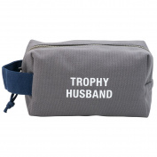 Trophy Husband Travel Cotton Canvas Rugged Dopp Kit Bag