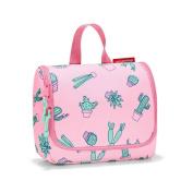 reisenthel toiletbag S kids, Small Toiletry Travel Organiser, Cactus Pink