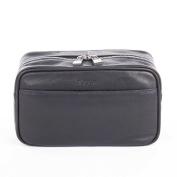 Bugatti Sartoria Leather Washbag Black