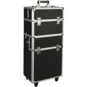 Just Case Rolling Makeup Case Organiser in Black Dot-NG7201DTBK