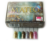 Fantasy Nails Sinaloa - Acrylic Powder MATEO Collection 6 Pc Hard to find