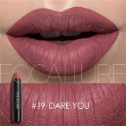 Creazy Matte Lipstick Lips Makeup Cosmetics Waterproof Pintalabios Batom Mate Lip Gloss