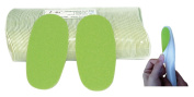 IBI Disposable Green Foot File Replacement Pad 100pcs with FREE Handle