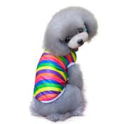 Dog T Shirt,Fheaven Fashion Summer Pet Dog Classic Wide Stripes Lovely T-shirt