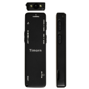 Timorn Mini Digital Audio Voice Recorder Stereo Recording Rechargeable Audio Dictaphones Night Vision Light for Meetings Lectures Classes Interviews
