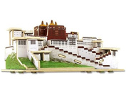 3D World Architecture Potala Palace Building Blocks Construction Model Building Toys DIY Decorations Gift Handmade Crafts Artwork