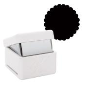 Xcut Handheld Paper Card Shape Craft Cutter - Large Palm Punch - Scallop Circle