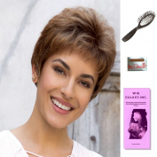 Pam by Noriko, Wig Galaxy Hair Loss Booklet, Wig Cap, & Loop Brush (Bundle - 4 Items), Colour Chosen