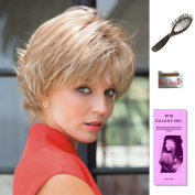 Nori by Noriko, Wig Galaxy Hair Loss Booklet, Wig Cap, & Loop Brush (Bundle - 4 Items), Colour Chosen