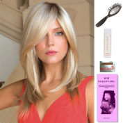 Milan by Noriko, Wig Galaxy Hair Loss Booklet, 60ml Travel Size Wig Shampoo, Wig Cap, & Loop Brush (Bundle - 5 Items), Colour Chosen