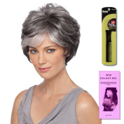 True by Estetica, Wig Galaxy Hair Loss Booklet & Magic Wig Styling Comb/Metal Pick Combo (Bundle - 3 Items), Colour Chosen