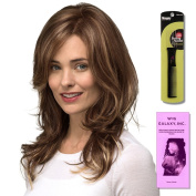 Monroe by Estetica, Wig Galaxy Hair Loss Booklet & Magic Wig Styling Comb/Metal Pick Combo (Bundle - 3 Items), Colour Chosen
