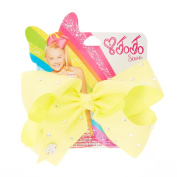 JoJo Siwa Small Rhinestone Lemon Signature Hair Bow