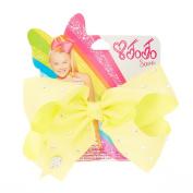 JoJo Siwa Small Rhinestone Lemon Signature Hair Bow