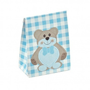 Gift Boxes Bags - Giovanni Grazielli Italian Design Wrap Premium and Stylish SB 60 Light Blue