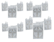 Package of Religious Cross Gift Bags -12 pack
