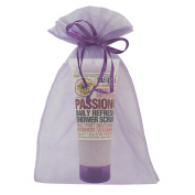 Passion Fruit Exfoliating Shower Scrub Nspa by Nirvana Spa with Real Fruit Goodness and Natural Vitamins