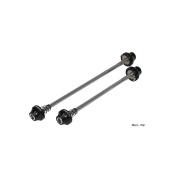 Halo XL Hex Key Bolt Skewers Pair Black - Black
