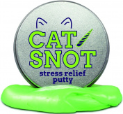 Cat Snot Stress Putty – Stress Relief Toys Crazy Cat Lady Gifts Funny Cat Kitten Gifts Stocking Stuffers for Girls Stocking Stuffers for Women Cat Boogers by Gears Out