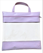 41cm by 41cm See Your Stuff Clear Storage Bags, Pink