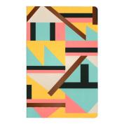 Denik Copper Aztec Notebook 5.25X8.25 Lined