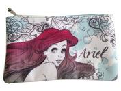 Disney Little Mermaid Ariel Script Pouch by Loungefly Wallet Clutch Makeup Bag Purse School Case