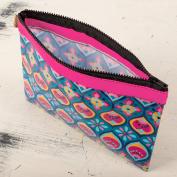 Karma by Stephen Joseph Travel Carry All Zipper Case Bag - Fandago Pink