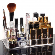 Clear Acrylic Makeup Cosmetic Organiser Brush Lipstick Holder Storage Case Box