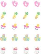 40 New Mom Baby GirlNail Art Designs Decals