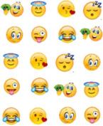 40 Emoji Nail Art Designs Decals