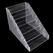 Noxus Bros Makeup Nail Polish Display Stand Organiser Clear Holder Rack Acrylic 6 TiersDisplay Stand Holder,
