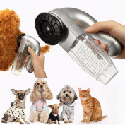 Fheaven Cat Dog Pet Hair Fur Remover Shedd Grooming Brush Comb Vacuum Cleaner Trimmer