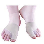 Gel Pad Bunion Protection and Toe Separator Sleeve, for Bunion Relief before and After Bunion Surgery