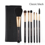 Zoreya Professional 7pcs Makeup Brush Sets With Bag Essential Makeup Eyeshadow Brush Makeup Tool Beauty Gift