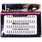 J2 Professional Eyelash Flare Medium False Lashes
