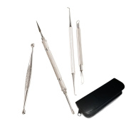Blackhead Remover Kit, 4 Pieces - Professional standard With case [version:x9.4] by DELIAWINTERFEL