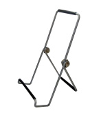 Fixture Displays Wire Easel for Table Top with 3.2cm lip, 3.75 x 7.5 - Black 19451 19451